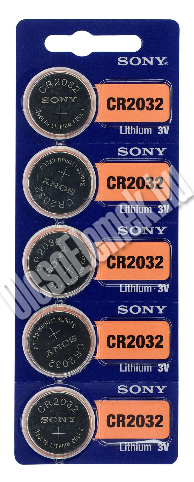 SONY CR2032 LITHIUM GOMBELEM BL/5 - 5db/Zsugor